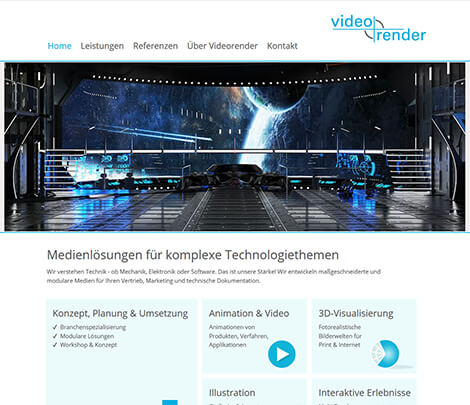 CD + Homepage für Multimedia Agentur