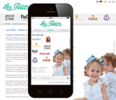 Mobile Website für Kindermodeladen