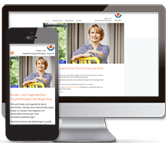 Responsive Website für Therapeutin